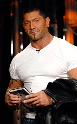 Is dave batista still dateing melina.