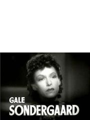 Gale Sondergaard Profile Photo
