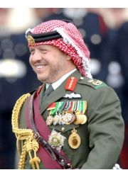 King Abdullah II of Jordan Profile Photo