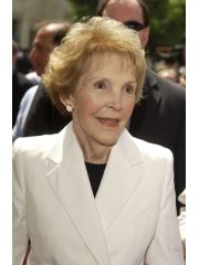 Nancy Reagan Profile Photo