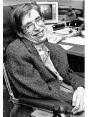 Stephen Hawking Profile Photo